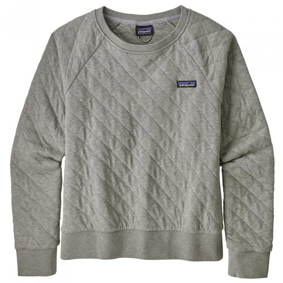 Patagonia W's Drifter Grey Quilt Crew Top