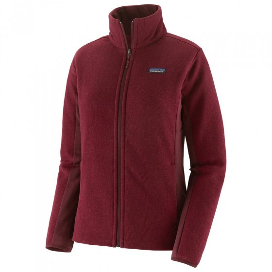 Patagonia W's Better Sweater Hoody Chicory Red