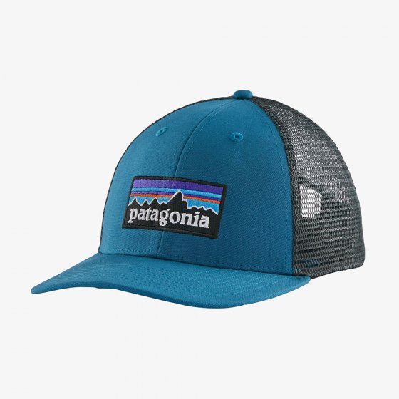 Picture of the trucker hat front facing. Picture background is white.