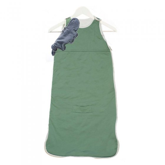 Pure Earth Collection Bamboo Baby Sleeping Bag - Emerald Green