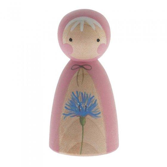 Peepul Cornflower Peg Doll