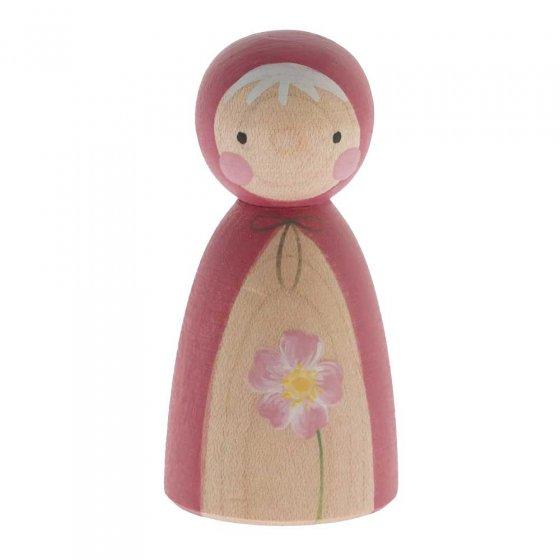 Peepul Dog Rose Peg Doll