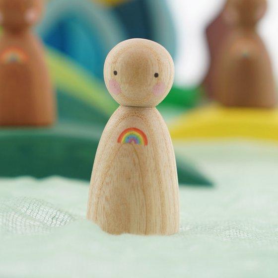 Peepul Rainbow Ash Peg Doll