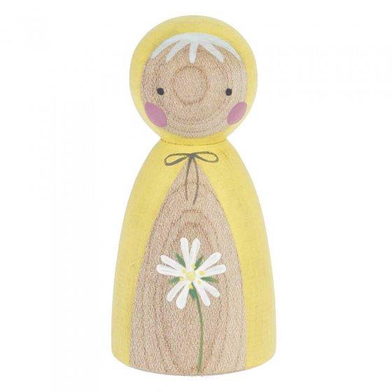 Peepul Stitchwort Peg Doll