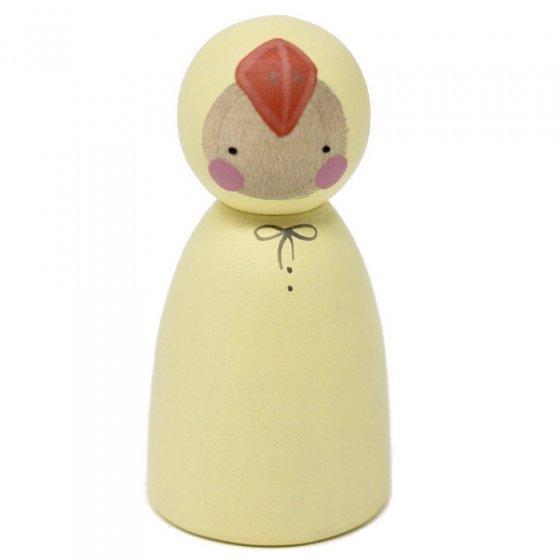 Peepul Easter Chick Peg Doll