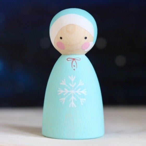 Peepul Winter Elf Peg Doll