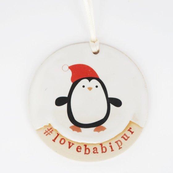 Babipur Penguin #lovebabipur Decoration