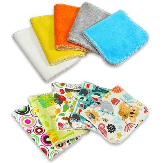 Petit Lulu Cloth Wipes - 5 Pack