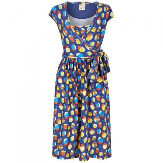 Piccalilly Adult Beach Days Wrap Dress