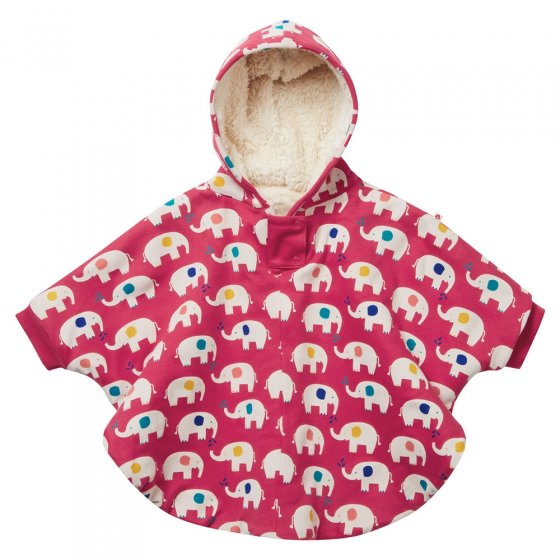 Piccalilly Adult Elephant Poncho
