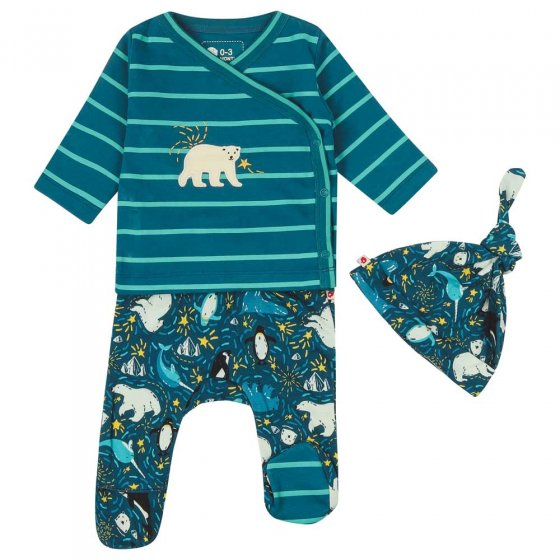Piccalilly Arctic 3 Piece Baby Set