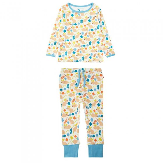 Piccalilly Fieldmouse All Over Print Pyjamas