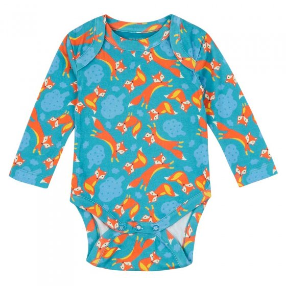 Piccalilly Foxes Baby Bodysuit