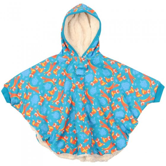 Piccalilly Foxes Poncho