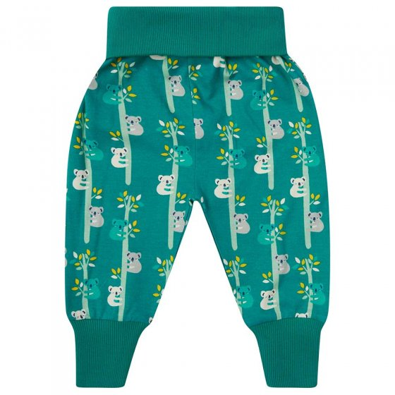 Piccalilly Koala print pull up trousers