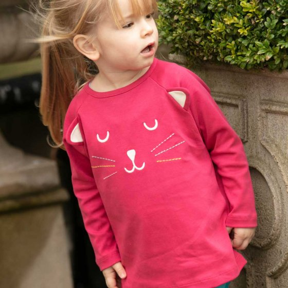 Piccalilly Magic Cat Top