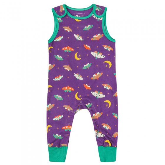 Piccalilly Moonlight Moth Dungarees