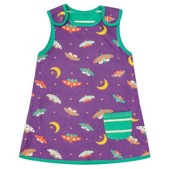 Piccalilly Moonlight Moth Reversible Dress