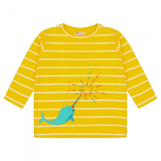 Piccalilly Narwhals Top