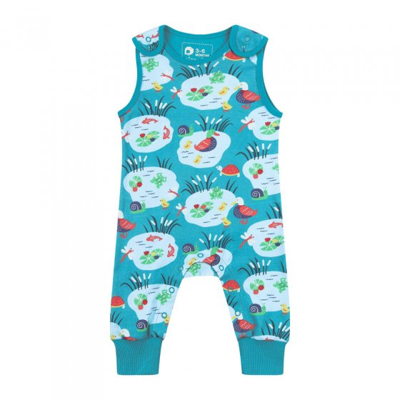 Piccalilly Pondlife Dungarees