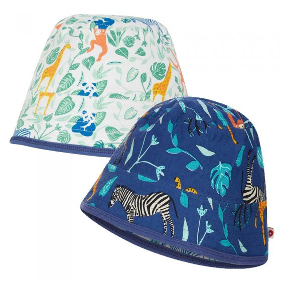 Piccalilly Reversible Sun Hat Wildlife