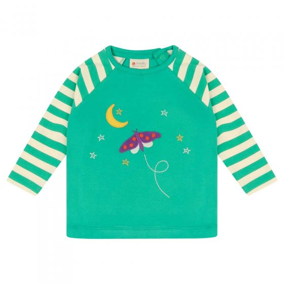 Piccalilly Starry Night Raglan Top