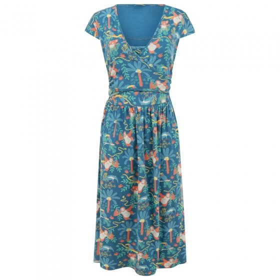 Piccalilly Adult Rainforest Wrap Dress