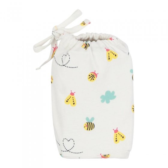 Piccalilly Little Wings Moses Basket Sheet