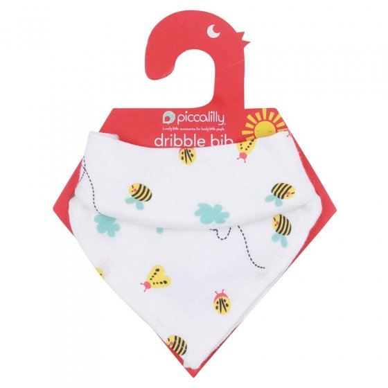 Piccalilly Little Wings Muslin Bandana Bib & Burp Cloth