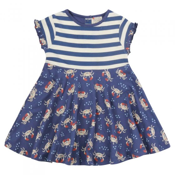 Piccalilly Ocean Crab Skater Dress