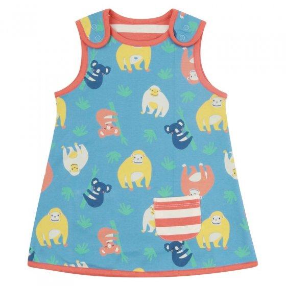 Piccalilly Orangutan Reversible Dress