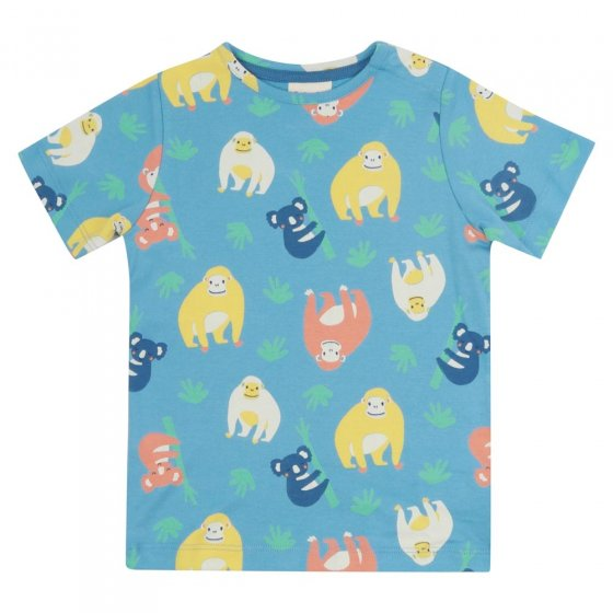 Piccalilly Orangutan All-Over Print T-Shirt