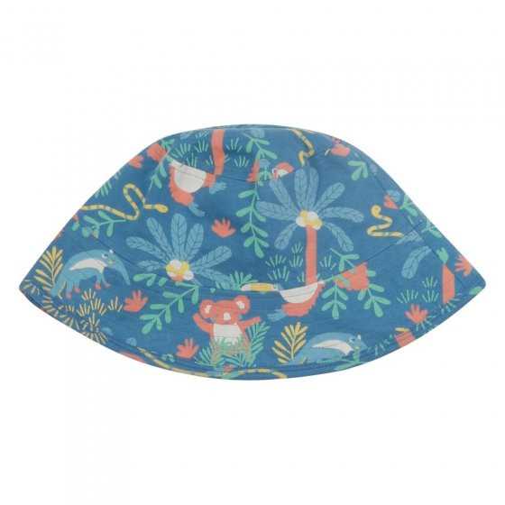 Piccalilly Rainforest Reversible Sun Hat