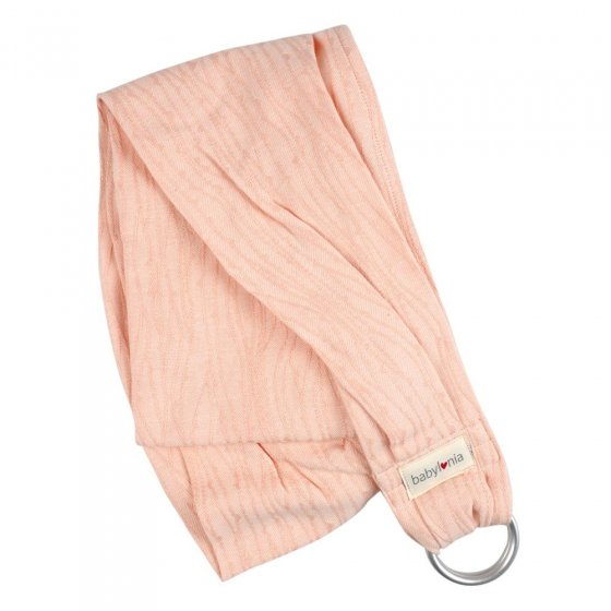 Babylonia Doll Carrier Sling - Delicate Pink