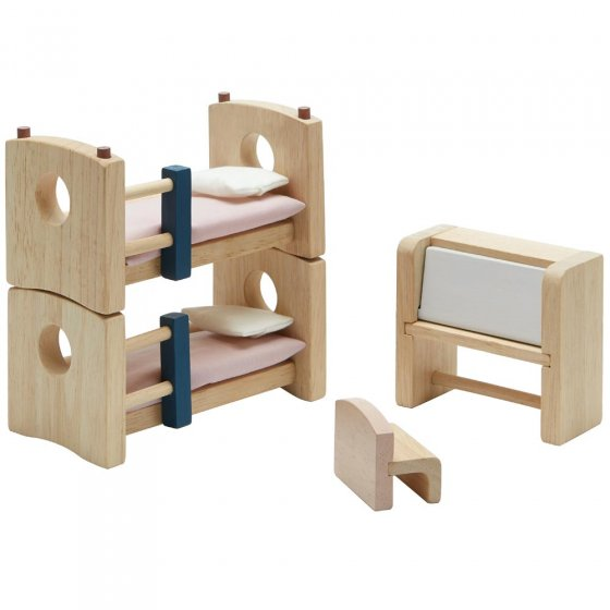 Plan Toys Children's Room Dolls House Furniture
