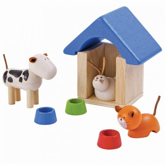 Plan Toys Dolls House Pets & Accessories