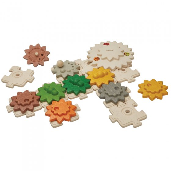 Plan Toys Gear and Puzzle