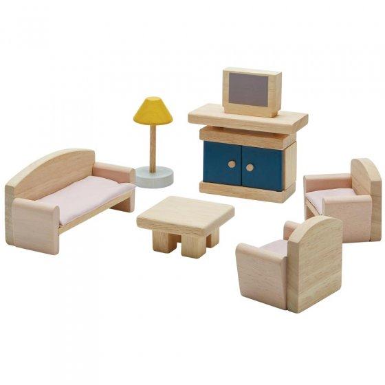 Plan Toys Living Room Dolls House Furniture