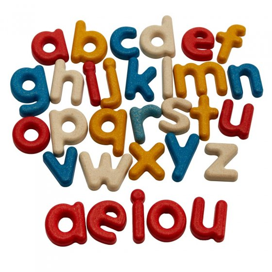 Plan Toys Lower Case Alphabet