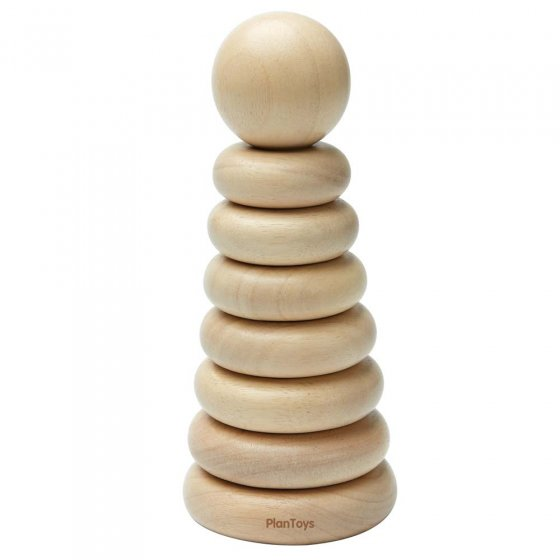 Plan Toys Natural Stacking Ring