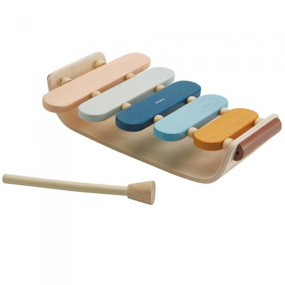 Plan Toys Oval Xylophone Orchard
