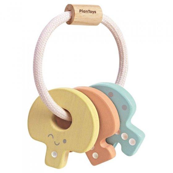Plan Toys Pastel Baby Key Rattle