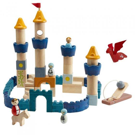 Plan Toys Castle Building Blocks Orchard