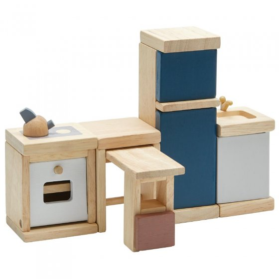 Plan Toys Kitchen Dolls House Furniture set