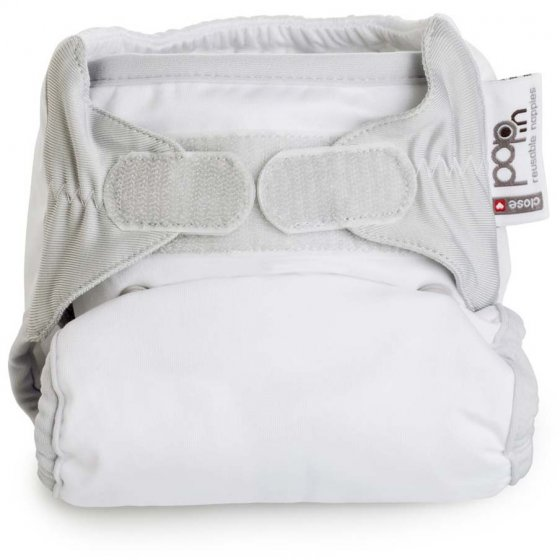 Pop-In Pastel Single H&L Nappy - Snowball