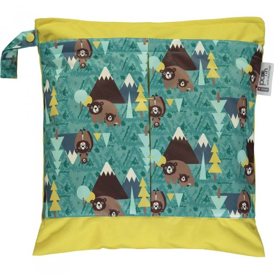 Pop-in Bear Small Tote Bag