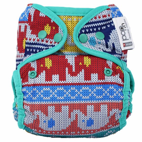 Pop-in Clyd Elephant Popper Nappy Cover