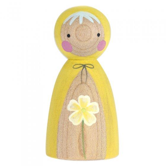Peepul Primrose Peg Doll
