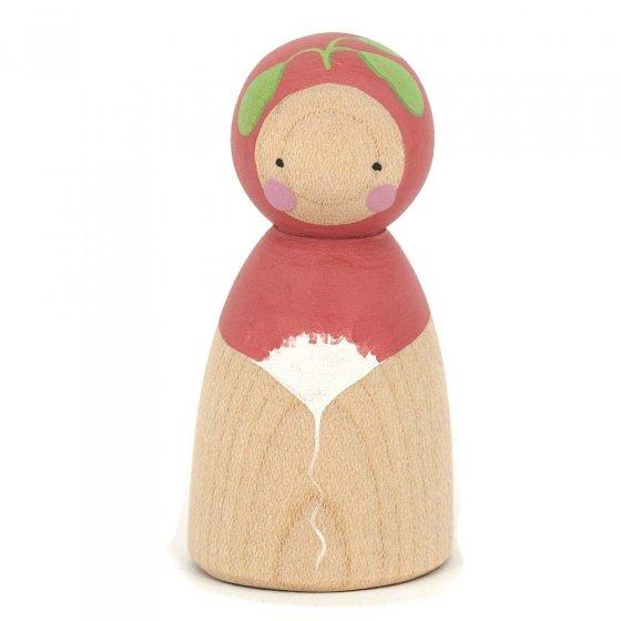 Peepul Peter Radish Peg Doll