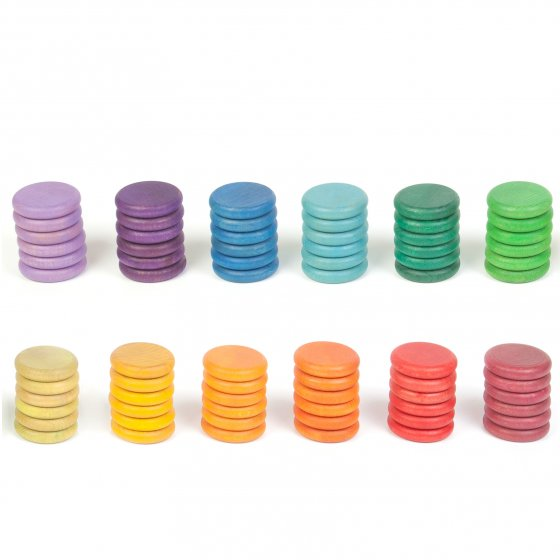 Grapat Extras Rainbow Coins 12 Colours